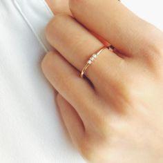 Appoline Bague Diamant en Or blanc 18k - 4
