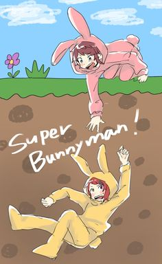 Bunny Man, Chibi, Artist, Anime, Fictional Characters, Singers, Cartoon Movies, Anime Music, Fantasy Characters
