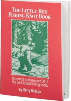 A convenient pocket guide that features 50 of the best fishing knots you need to know and how to tie them. 75 pages. Softcover.