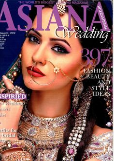 My work featured in Asiana Wedding international Magazine 2012 #rajasthani #asianbridal #indianjewllery