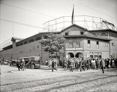 Cleveland: League Park: 1910. Home of the Cleveland Indians before Municipal Stadium.
