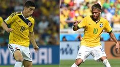 Neymar frente a James en números... http://www.1502983.talkfusion.com/products/