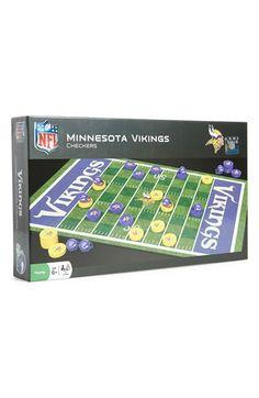 Masterpieces  Minnesota Vikings  Checkers Set Viking Baby 73010961a