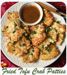 Fried Tofu Crab Patties - ILoveHawaiianFoodRecipes