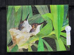 Bird nest quilt, no details, but a winner.