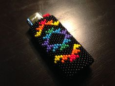 Beautiful Hand Beaded Native American Lighter by NativeArtsCrafts, $25.00