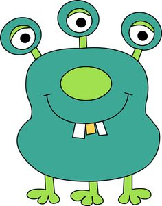 free cute monster clip art blue monster clip art image blue rh pinterest com free clipart monster trucks free clipart monster trucks