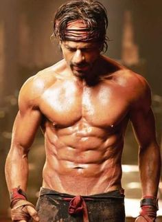 Shahrukh Khan's body for Happy New Year...