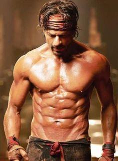 Shahrukh Khan's body for Happy New Year...