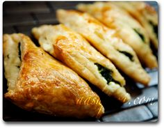 borek, burek recipe.  Has a pastry dough recipe attached. Too lazy, just buy puff pastry dough at the store.