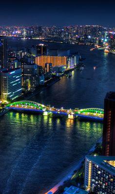 #Tokyo at #Night #Japan http://en.directrooms.com/hotels/subregion/1-3-6/