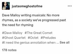 Great Comet Of 1812, The Great Comet, Theatre Geek, Theater, Musical Theatre Broadway, Things To Know, Cinnamon Rolls, Awesome Stuff, Savior