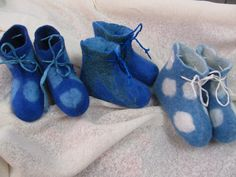 neue Baby-Filz Schuhe Ursula Pauly baby felt shoes handmade