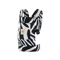 Ergobaby Doll Carrier in zebra makes babydoll wearing a pleasure for kids | | toy & game. Spielzeug & Spiele . jouet & jeux | @ Huggle Baby |