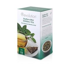 Southern Mint Herbal Tea 16 Count