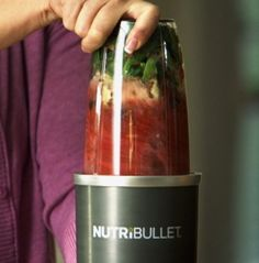Nutri-bullet recipe.  1/2 cup of frozen spinach 1/2 cup of frozen broccoli  1 cup frozen mixed berries Tbl honey Tsp cinnamon Approx 1.5 cups vanilla almond milk.  Blend well!! Soo good!!