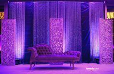 Beautiful Reception stage decor - @Lomesh The-Photographer