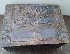 """Шкатулка """"Волшебное деревце"""" - авторский МК Натальи Полех! - Ярмарка Мастеров - ручная работа, handmade"""