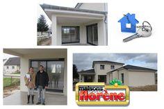 Réception ce matin de cette magnifique maison. Toute l'équipe vous souhaite beaucoup de bonheur dans votre nouvelle maison!