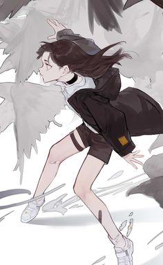 Character Drawing, Character Illustration, Illustration Art, Character Design, Anime Drawings Sketches, Art Drawings, Anime Art Girl, Manga Art, Pretty Art