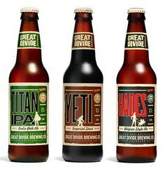 Great Divide beer package