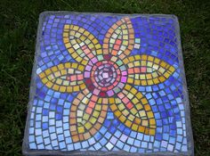 mosaic stepping stones pavers - Google Search