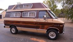 Ready to Camp Red-E-Kamp: '77 Chevy G20 - http://barnfinds.com/ready-to-camp-red-e-kamp-77-chevy-g20/