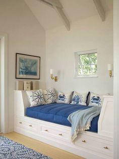 Beach Coastal Style Bedroom Decor Ideas - Page 2 of 116 Coastal Bedrooms, Coastal Homes, Coastal Living, Coastal Decor, Coastal Style, Coastal Furniture, Coastal Cottage, Nautical Furniture, Coastal Entryway
