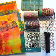 Hello everyone! My name is Birgit Koopsen and I feel honored to be guest blogging here on the Gelli Arts blog! Today I will show you ...