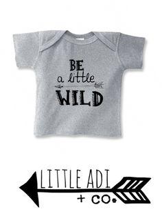 """Infant """"Little Wild"""" Tee"""