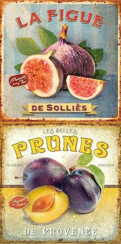 Figos e pêssegos