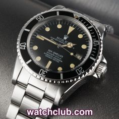 """Rolex Sea-Dweller Vintage - """"Rail Dial"""" REF: 1665 