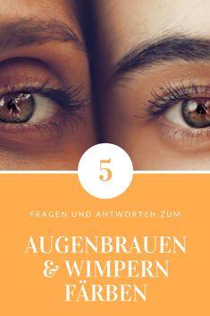 Brauen / Wimpern: Keine Lust deine #Wimpern und #Augenbrauen täglich zu #schminken und nachzuzeichnen? Dann haben wir die Lösung für dich!