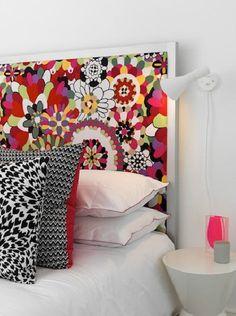 like the headboard Home Bedroom, Bedroom Decor, Master Bedrooms, Make Your Own Headboard, Headboard Cover, Diy Headboards, Headboard Ideas, Girl Bedroom Designs, Diy Bed