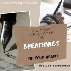 Take time this week to write from your heart. #writing #writefromtheheart #writinginspiration #teachersaswriters Writing Inspiration, Your Heart, Writer, Teacher, Cards Against Humanity, Paper, Rage, Professor, Writers