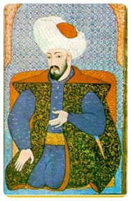 Osman Gazi's manuscript, founder of Ottoman Empire