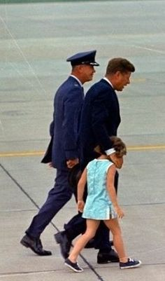 John Kennedy and Caroline