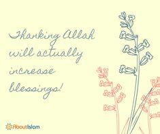 Always thank Allah!