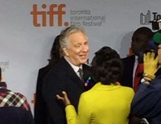 My photo of Alan Rickman on the red carpet at TIFF Sept. 13, 2014.  Still looking for more of the interviews from the red carpet, including this one.
