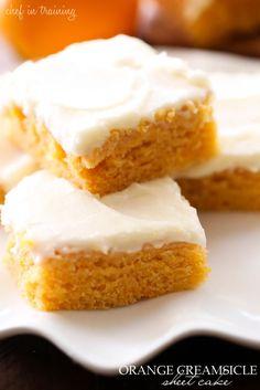 Orange Creamsicle Sheet Cake.       2 tbs vanilla (amount not listed).