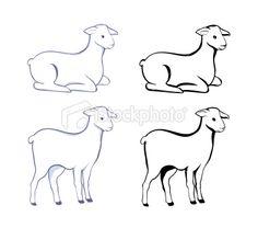 Lamb Royalty Free Stock Vector Art Illustration