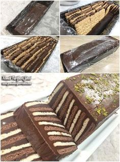Petibör Pasta Tarifi – Kolay yemekler – The Most Practical and Easy Recipes Pie Recipes, Sweet Recipes, Dessert Recipes, Cooking Recipes, Cake Recept, Mousse Au Chocolat Torte, Homemade Birthday Cakes, Biscuit Cake, Bread Cake