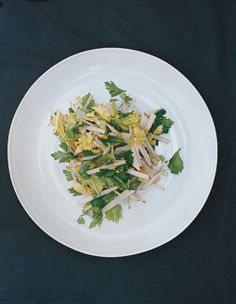 Find the recipe for Parsley, Celery Leaf, and Jicama Salad and other vinegar recipes at Epicurious.com