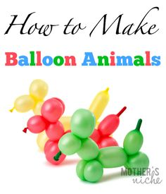A great skill to know for birthday parties, celebrations, or for entertaining nieces and nephews!