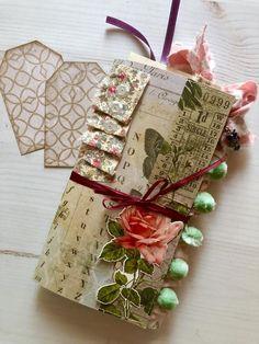 Botanical Traveler's Notebook Junk Journal in Standard Size - papel Music Paper, Paper Art, Paper Crafts, Autumn Inspiration, Journal Inspiration, Journal Ideas, Junk Journal, Journal Art, Journal Notebook