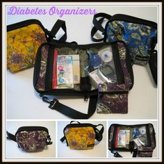 Diabetes Meter Cases, roomy and fashionable http://www.pumpwearinc.com/pumpshop/index.php?l=product_list&c=26