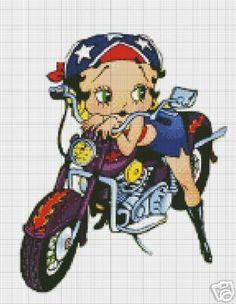 Baby Boop Motorbike Crochet Pattern
