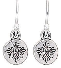 My Saint Hero Silver Earrings | Syracuse