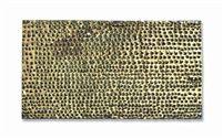 Mathias Goeritz, Mensaje , ca. 1961, perforated sheet metal and painted wood