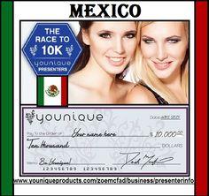 carrera por 10.000 dólares de los EEUU .. primera persona a subir a las filas a presentador de estado negro, será trasladado a Utah en EE.UU. para recoger $ 10.000 #rimel #moda #maquillaje #negocios #brillodelabies #oportunidad #unas #salon #belleza #peruquero #mexico #mexicocity #mexican #youniqueMEXICO